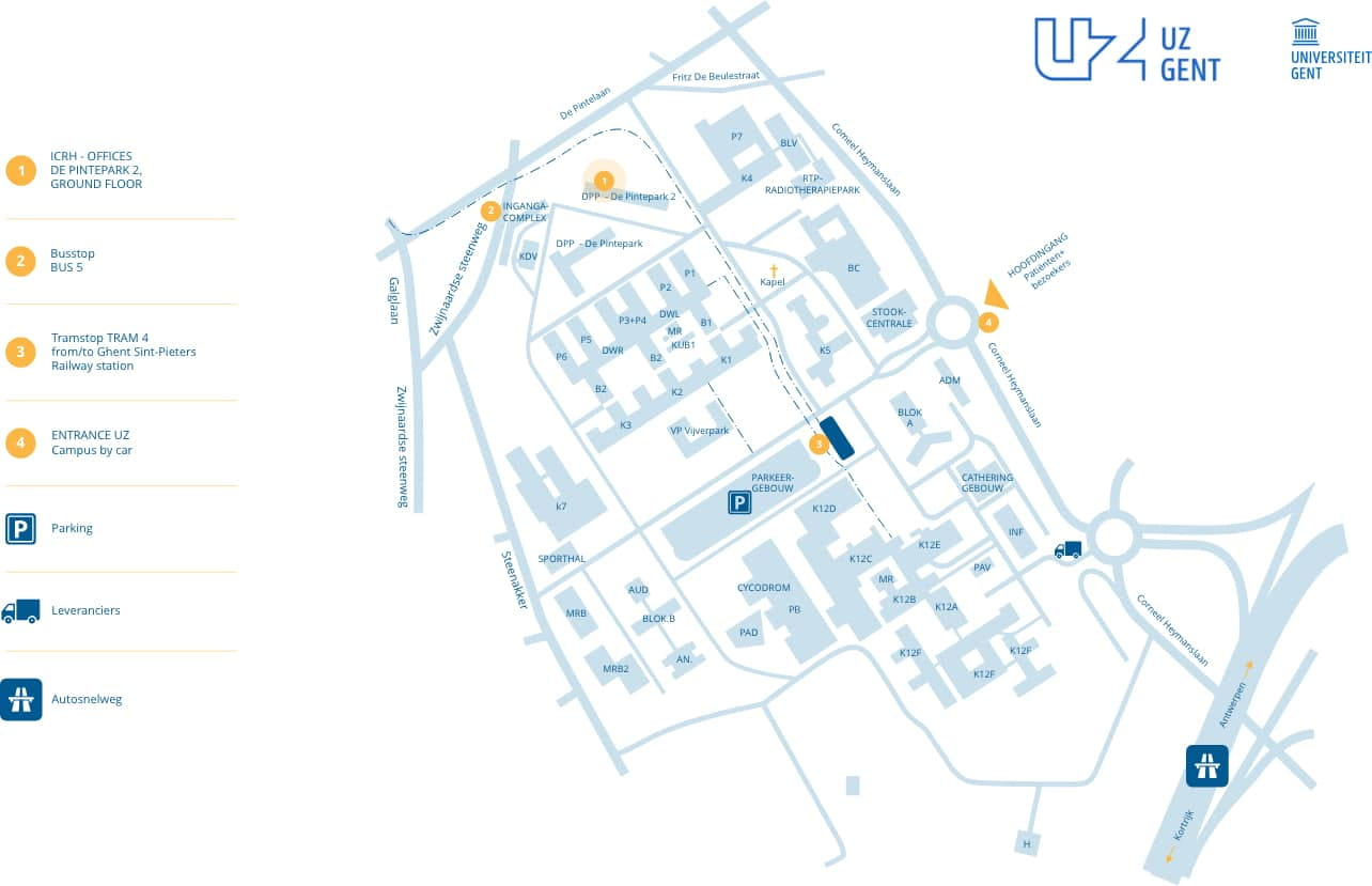 Plan UZ Gent