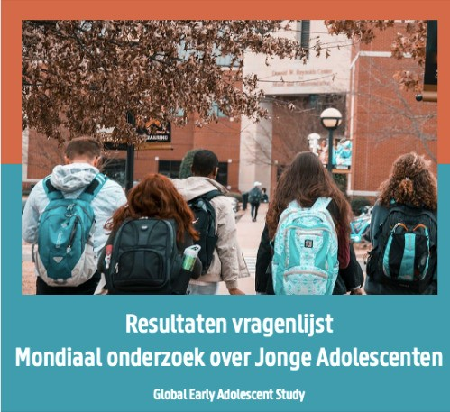 Global Early Adolescent Study results available for Belgium