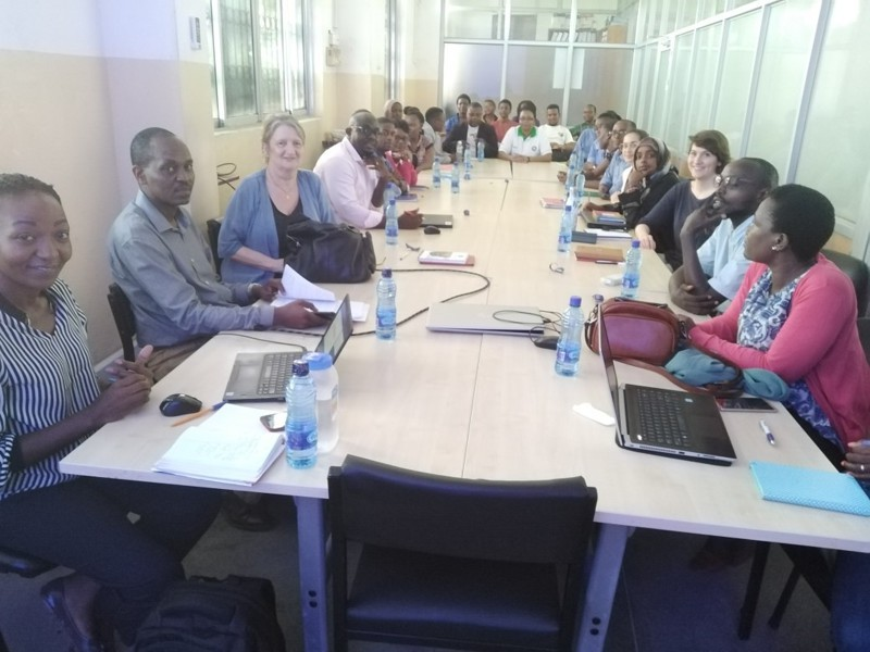 The Mombasa Journal club hosted by ICRH-Kenya