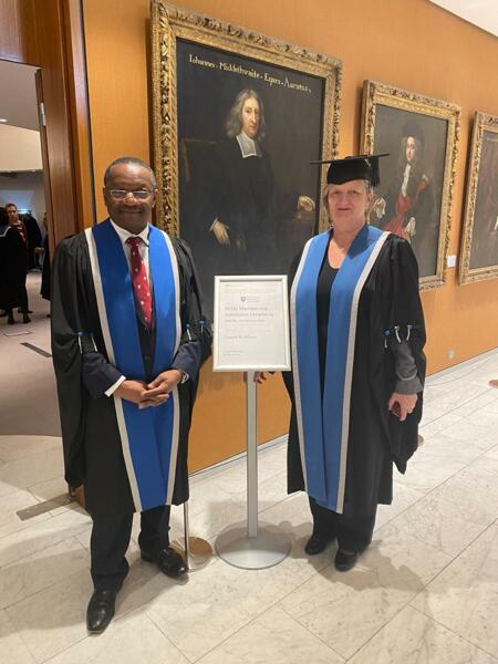 Marleen Temmerman honoured with a Fellowship honoris causa of the by the Royal College of Obstetricians and Gynaecologists