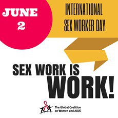 June 2nd International Sex Workers Day